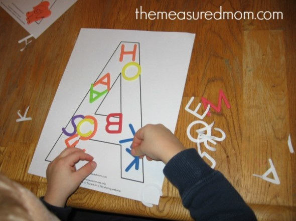 make A (5) - the measured mom