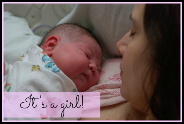our little girl