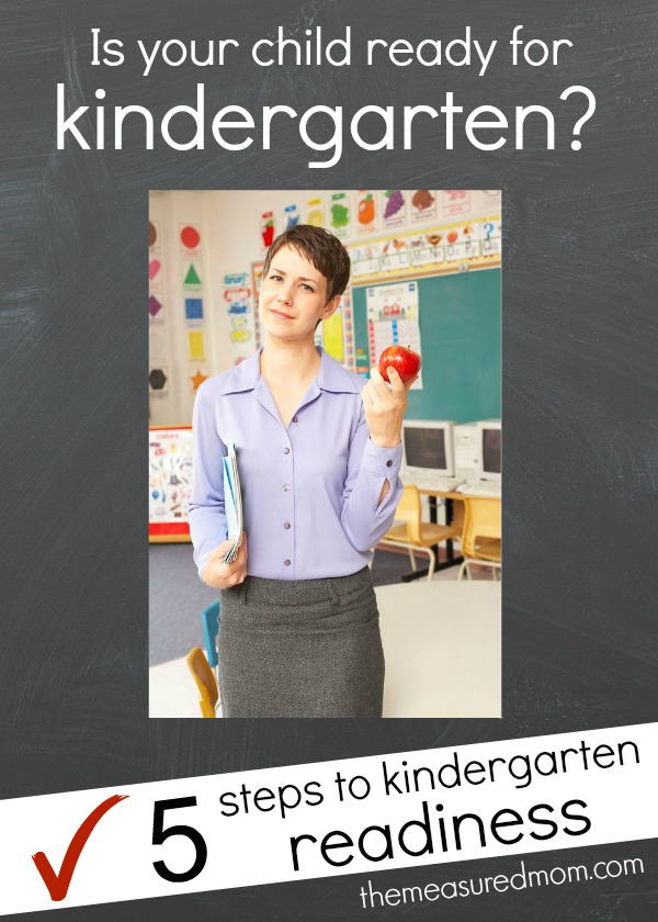 5 Steps to Kindergarten Readiness (plus a printable Ready ...