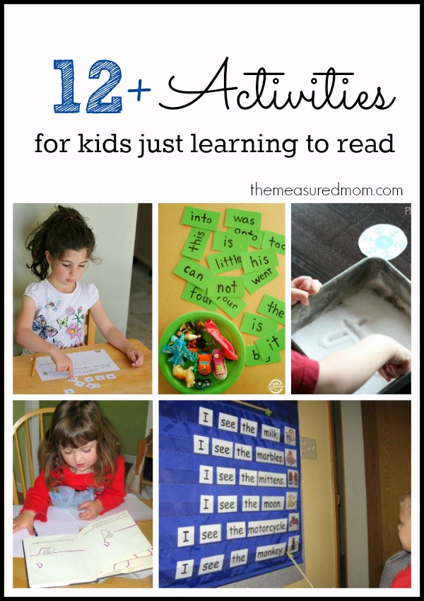 Teach Kids To Read With These Activities And Resources