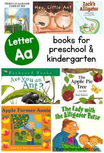 Books to teach Letter A – another Measured Mom book list!