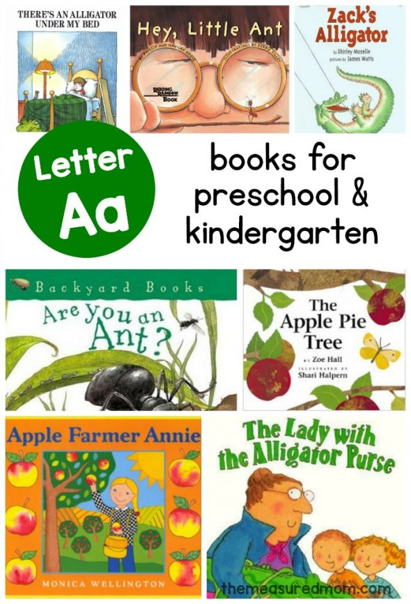 Books to teach Letter A   another Measured Mom book list!   The