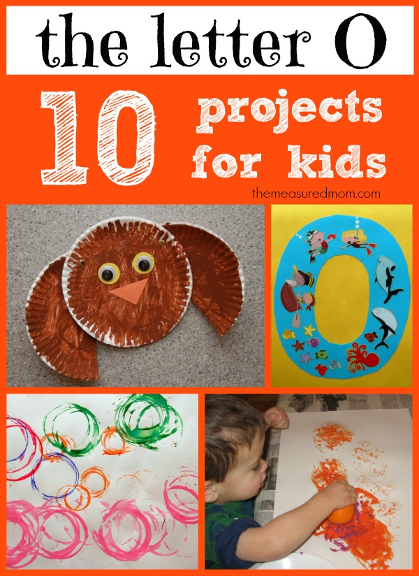 Letter O Crafts For Preschool Amp Kindergarten The