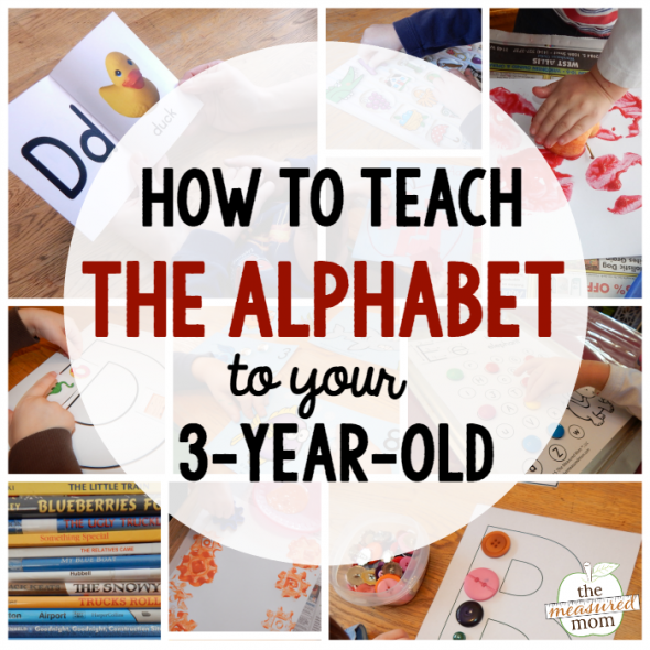 how to teach the alphabet to your 3-year-old square image