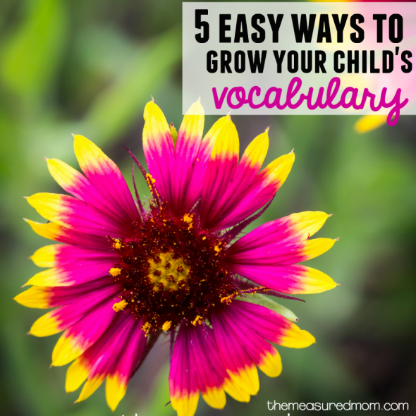 5 easy ways to grow your child's vocabulary square image
