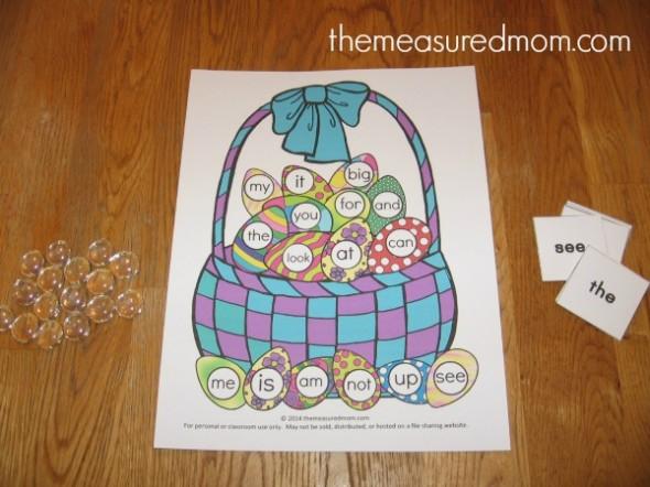 easter egg file folder game (2) - the measured mom