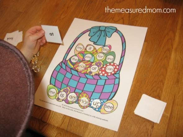 easter egg file folder game (3) - the measured mom