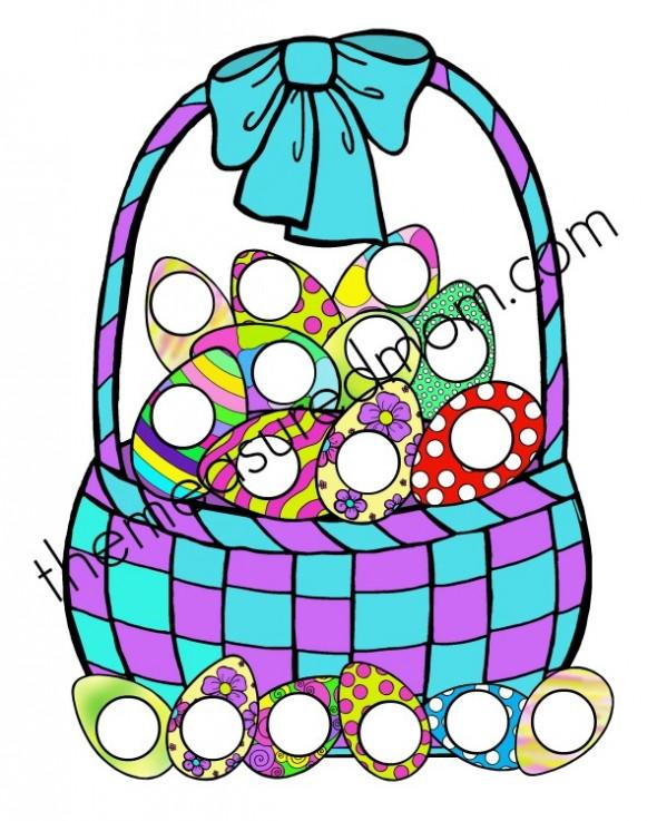 easter egg file folder game (5) - the measured mom