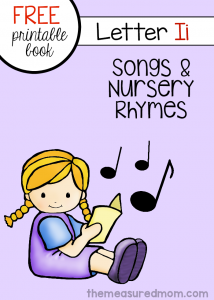 Little Letter I Book: Rhymes & Songs