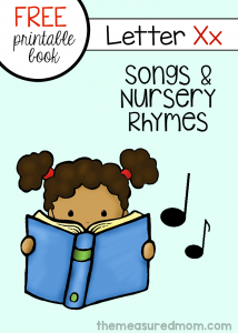 Rhymes for Letter X: Little Letter X Book