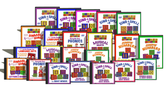 My kids LOVE these songs that teach letter sounds, spelling, math concepts, and more... and yours will too! Kid tested, teacher approved!