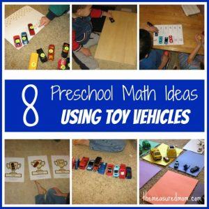 math toy vehicles