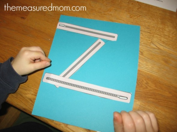 make letter Z (5) - the measured mom