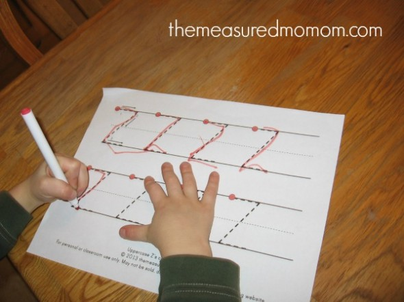 make letter Z (6) - the measured mom
