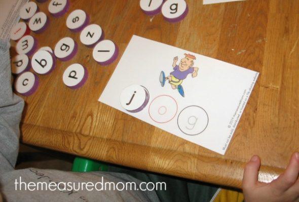 phonics practice activity 1 - the measured mom