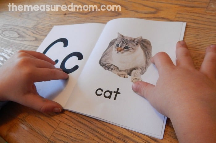 reading alphabet book 2