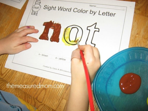 how to make sight word worksheets fun