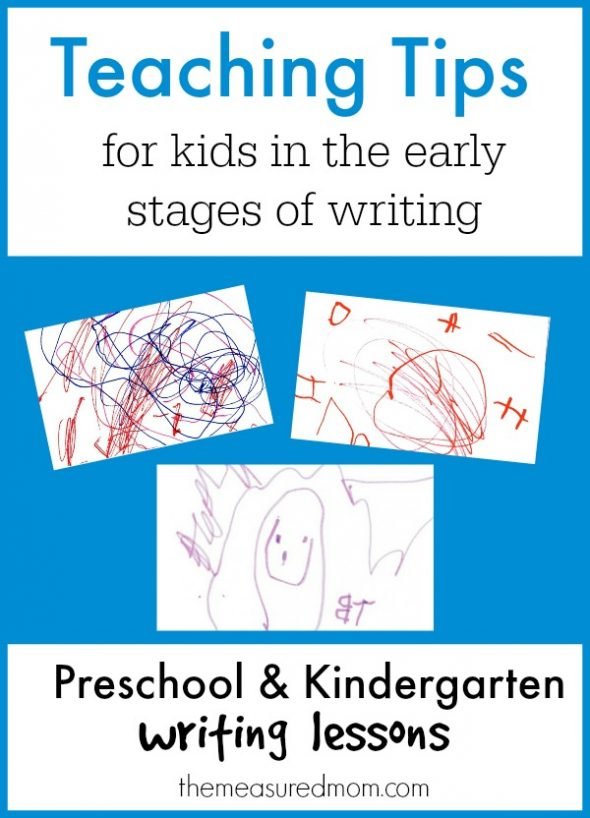 fun preschool writing activities