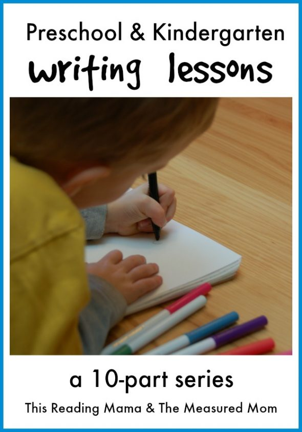 Do you want to know how to teach writing in kindergarten? You'll love these early childhood writing lessons... from scribbling to sentences!