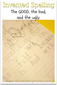 """Should you ever let your child """"invent"""" a spelling? Invented spelling is often misunderstood. Here's how to use it... and how NOT to."""