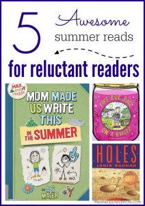 5 Books for reluctant readers