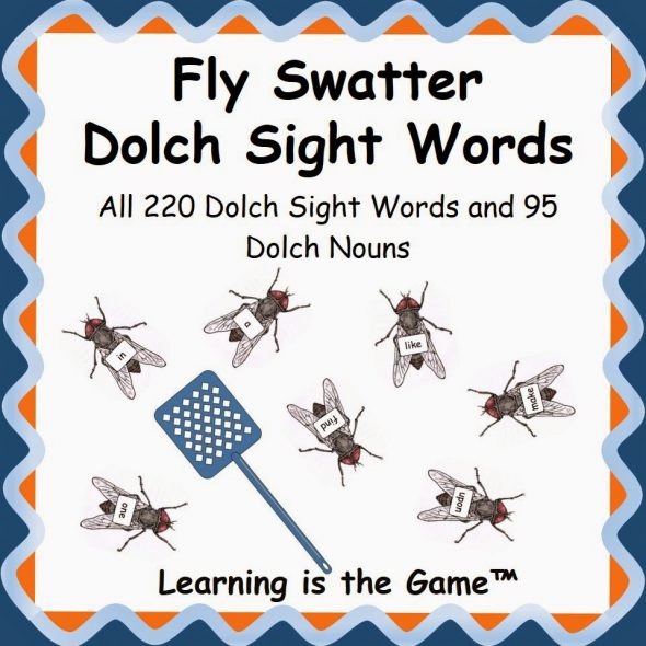 fly swatter sight word games