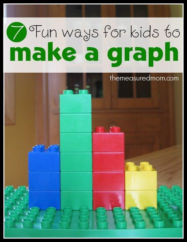 Graphing activities for kindergarten - The Measured Mom