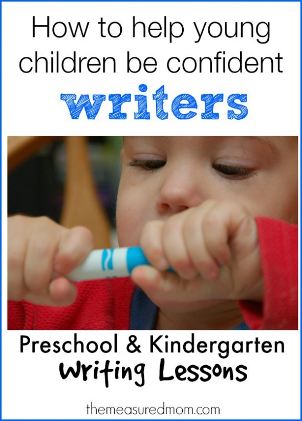 Are you teaching preschoolers to write? Try these tips to help them become confident and enthusiastic writers!