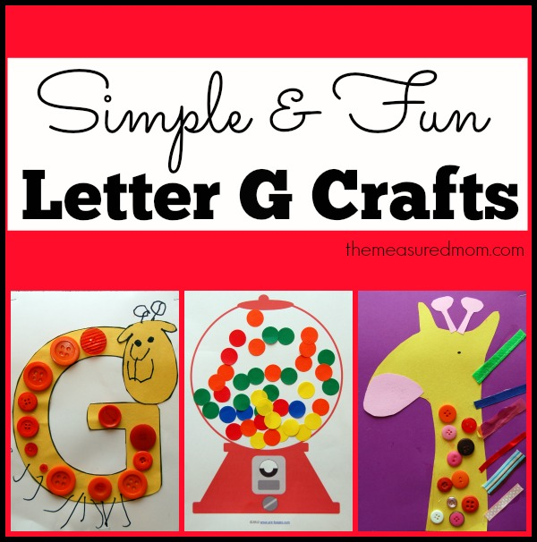letter p crafts the measured simple letter g crafts for toddlers and preschoolers the 979
