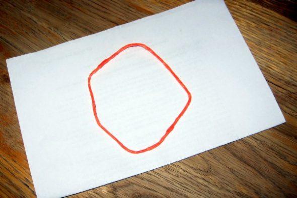 make letter O -3