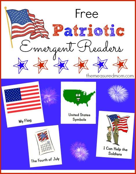 4th of July patriotic readers