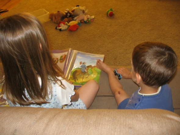 read to sibling
