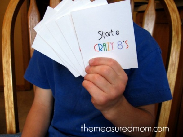 short e crazy eights 4
