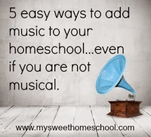 Tips for using music in the classroom or homeschool (plus a new linky!)