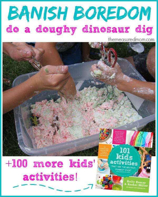 doughy dinosaur bin