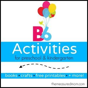 Letter B Activities