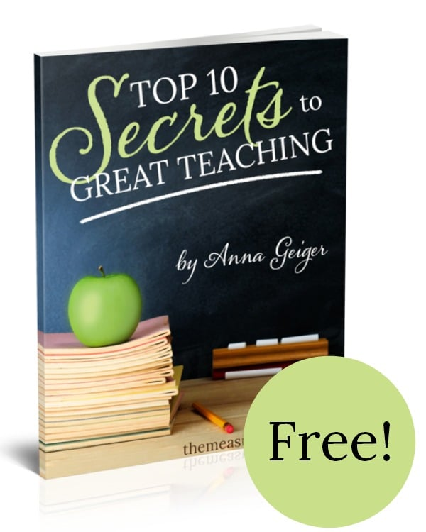 Top 10 secrets to Great Teaching - free!