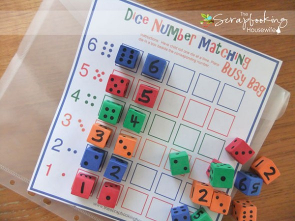 Dice Games for Preschoolers - The Measured Mom