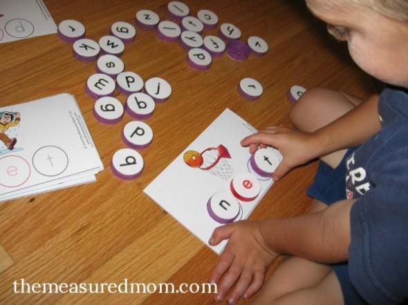 milk cap spelling mats for short e words 3