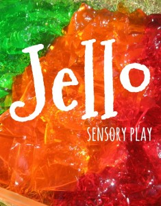 Jello Sensory Play