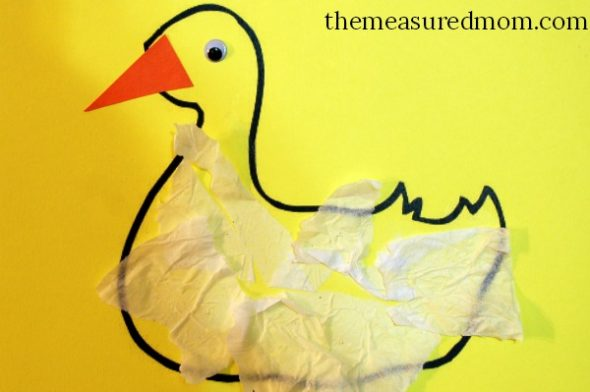 Paper Plate Duck Craft Castrophotos