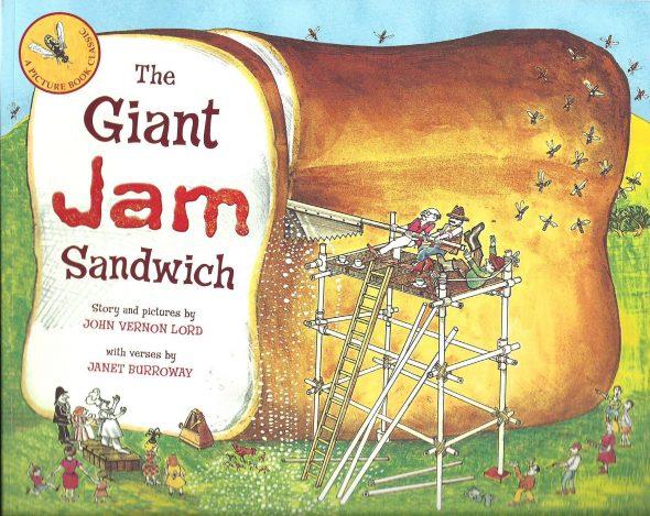 giant jam sandwich 590x469 Letter J Books