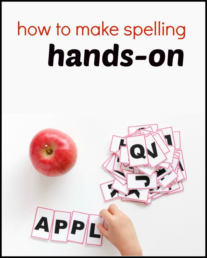 How to teach spelling, when to use invented spelling, hands-on spelling activities, and more!
