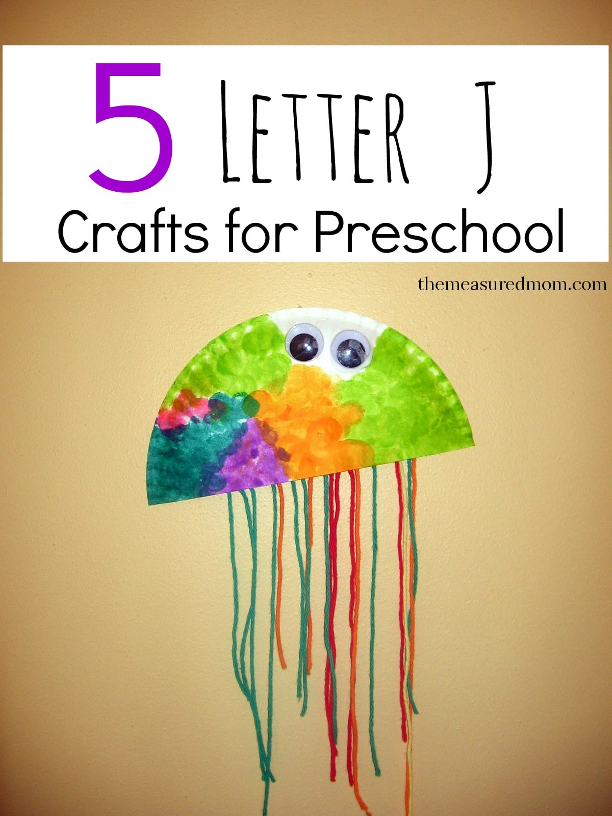 letter j crafts the measured mom. Black Bedroom Furniture Sets. Home Design Ideas