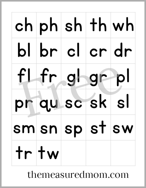 Captivating Get These Free Printable Letter Tiles For Making Words!