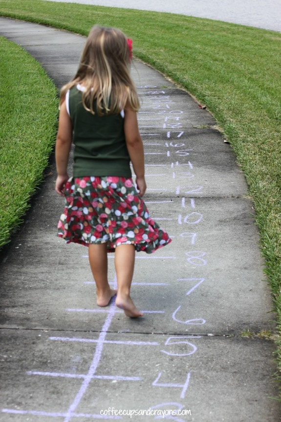These fun math activities for kids are perfect for the preschooler who loves to move!