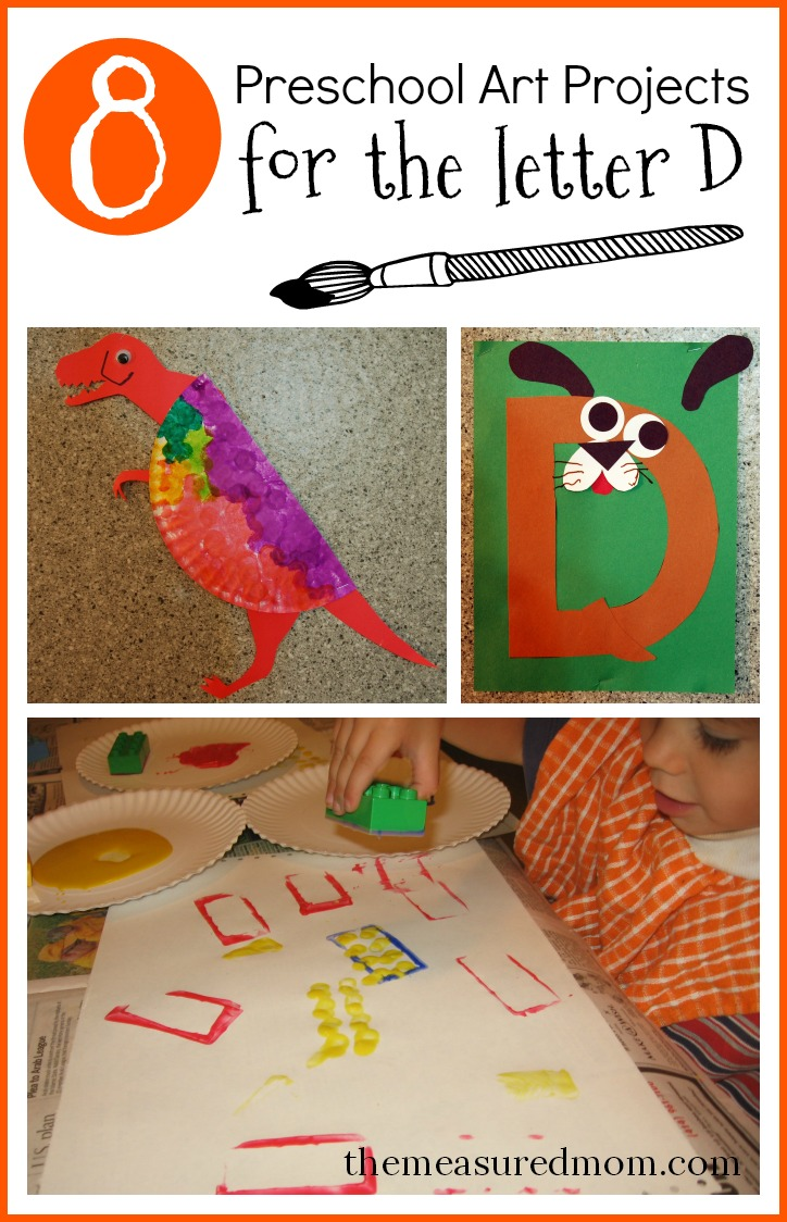 letter art projects preschool 8 letter d crafts the measured 10005
