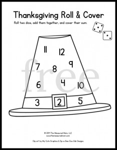 Looking For Some Fun Math Games Preschool And Kindergarten Grab Dice Markers