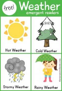 Weather emergent readers