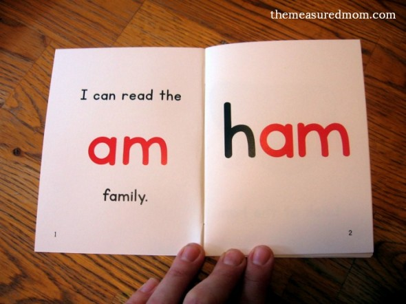 Teach kids to read short a word families with these FREE printable mini-books!